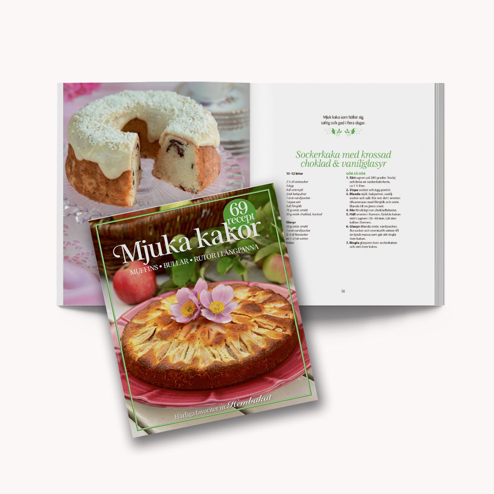 Soft cover recipe book