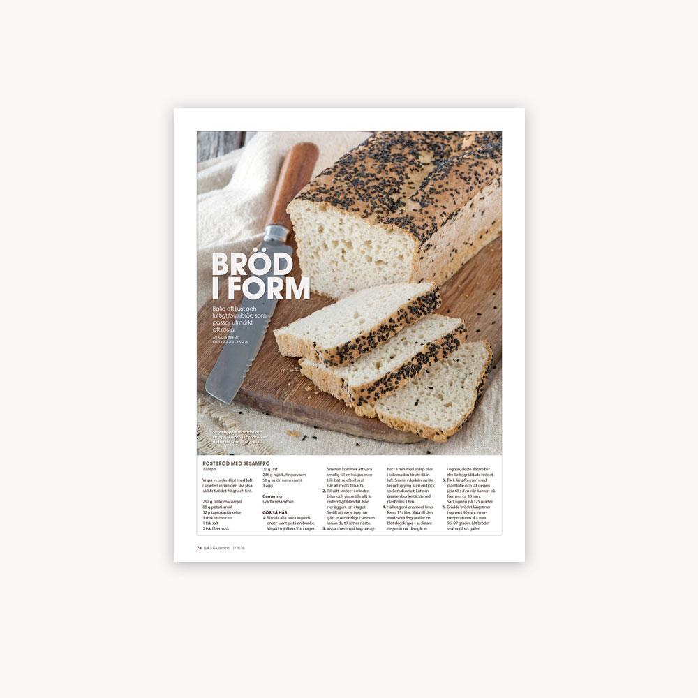 Recipe: Gluten free white toast bread