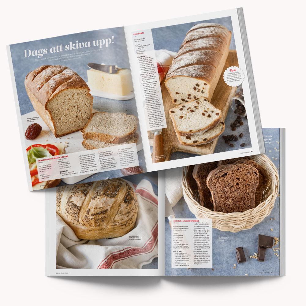 Recipe: 4 different breads