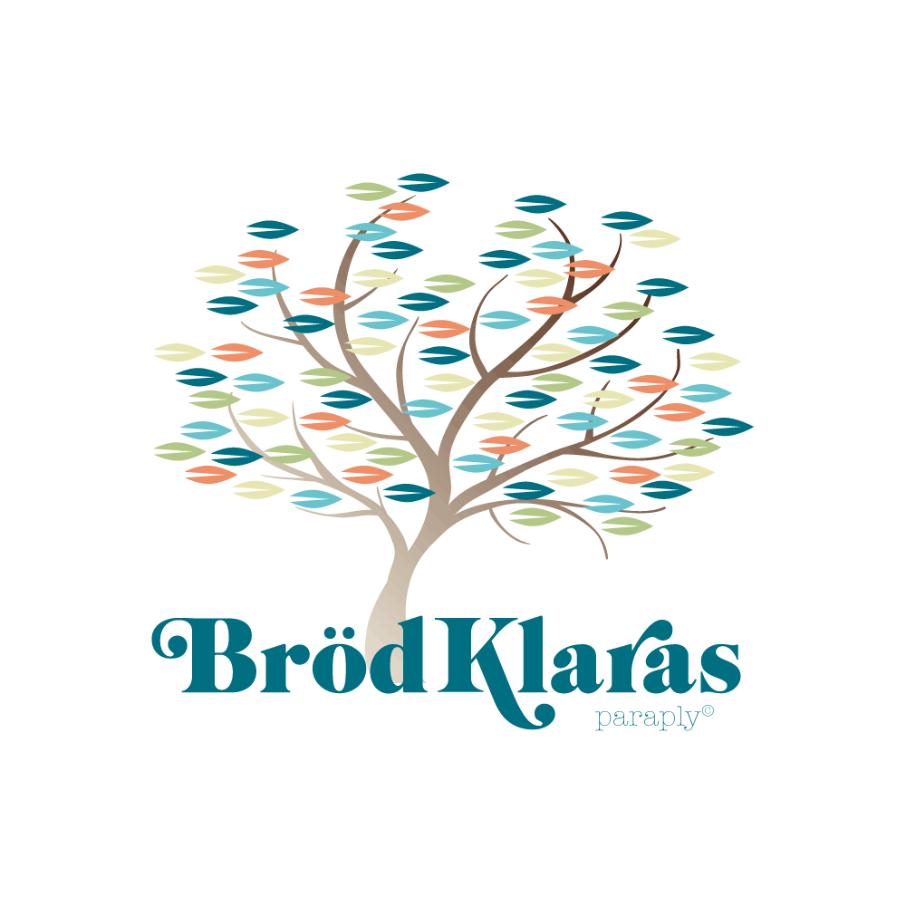 Logo for the blog Brödklaras Paraply