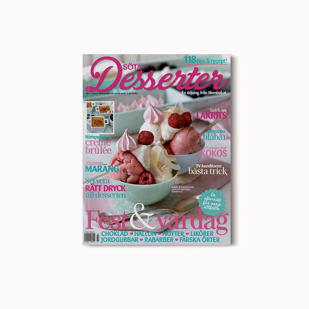 Cover Söta Desserter