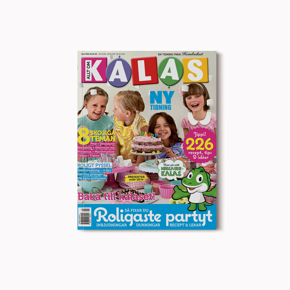 Cover Allt om kalas (June 2014)