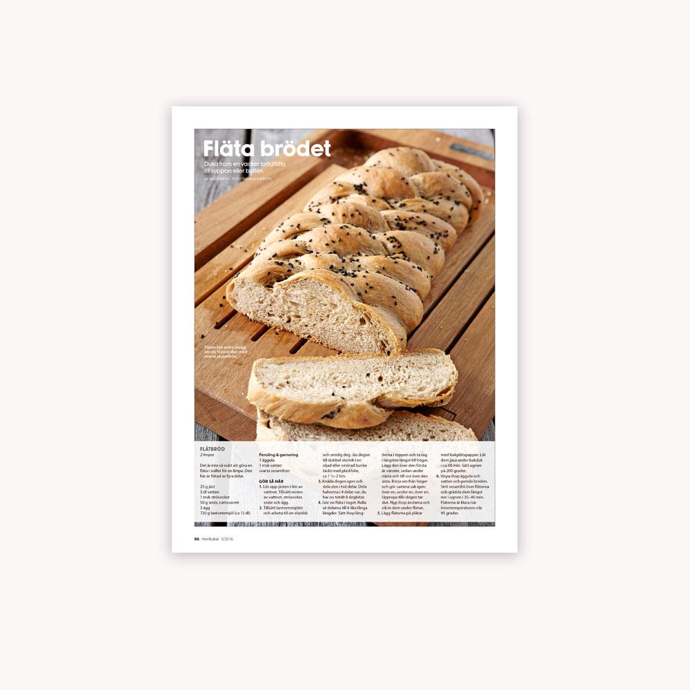 Recipe: Braided bread