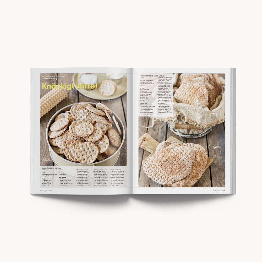 Recipe: Swedish crispbread