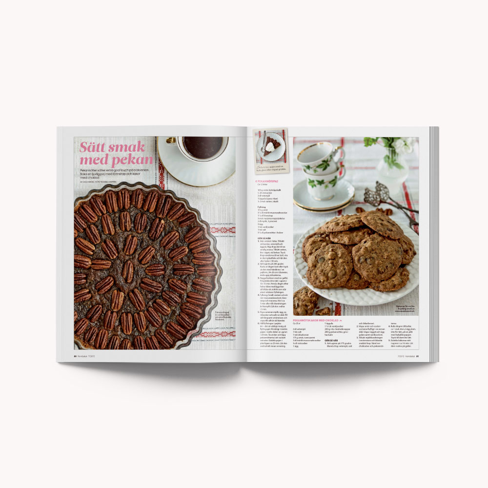 Recipe: Pecan pie and cookie
