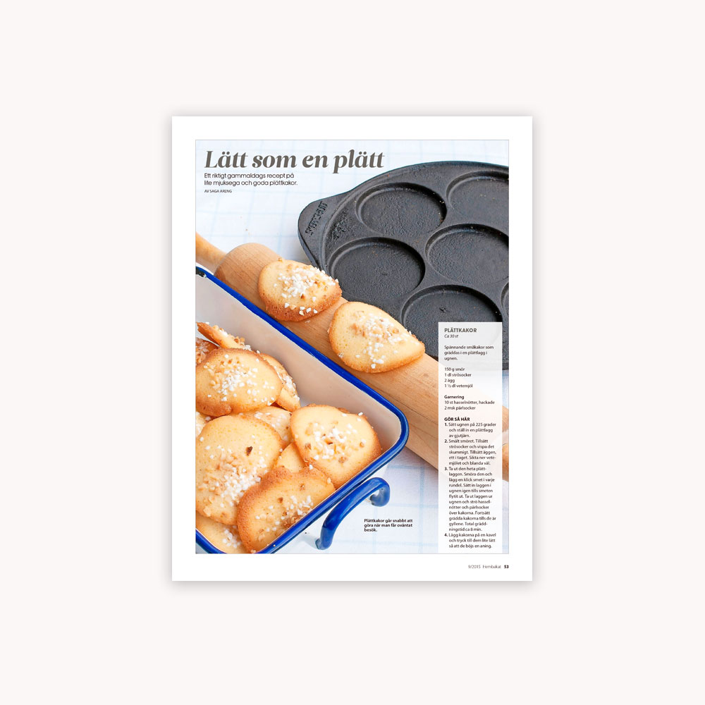 Recipe: Mini pancake cookies