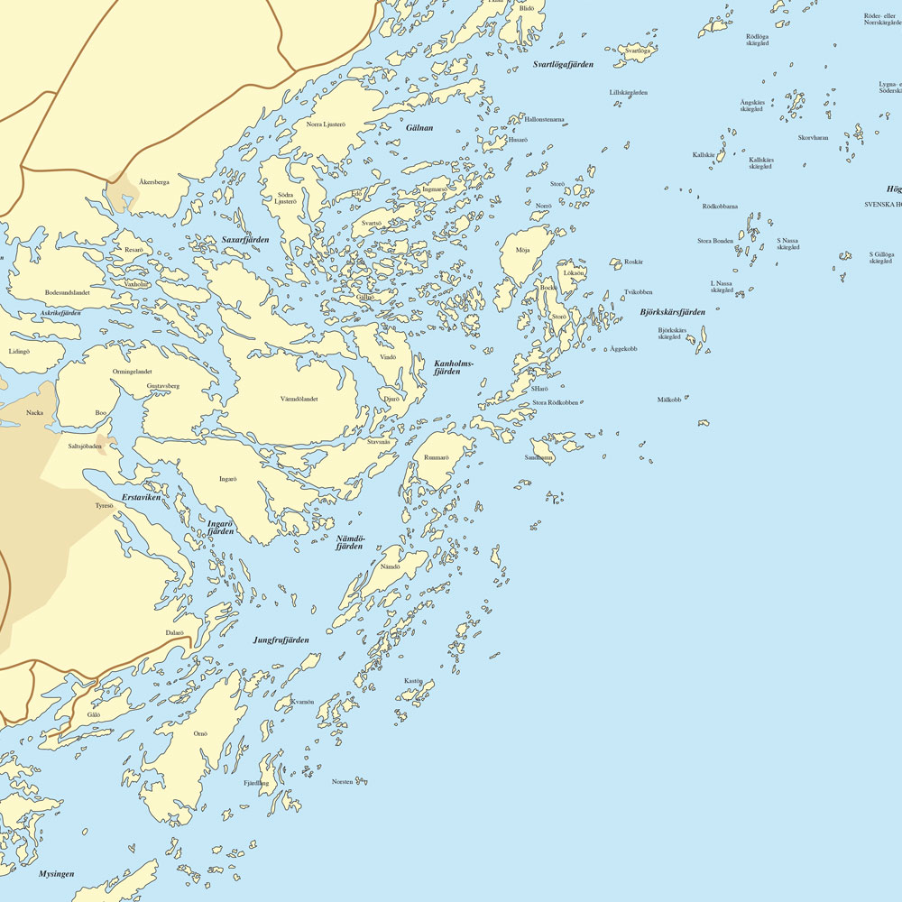 Layered map in Illustrator