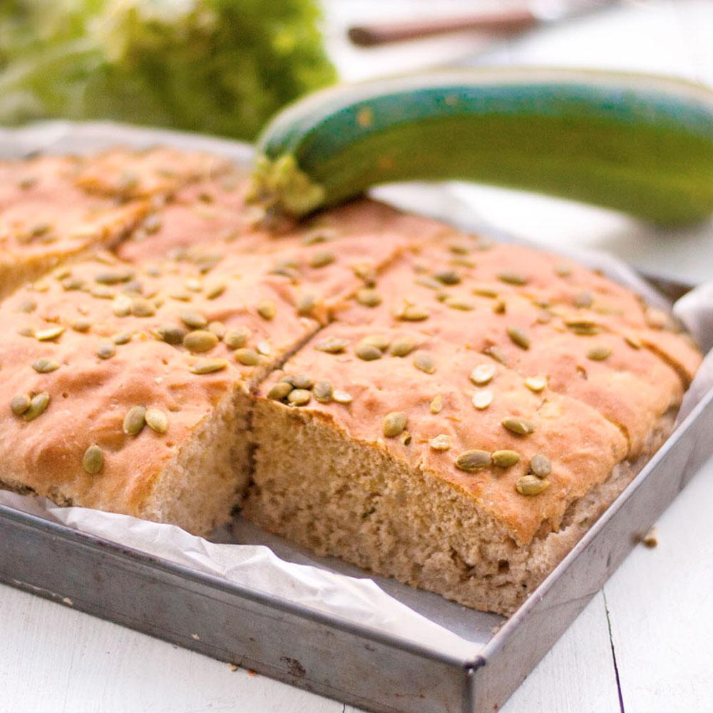 Breakfast bread with zucchini