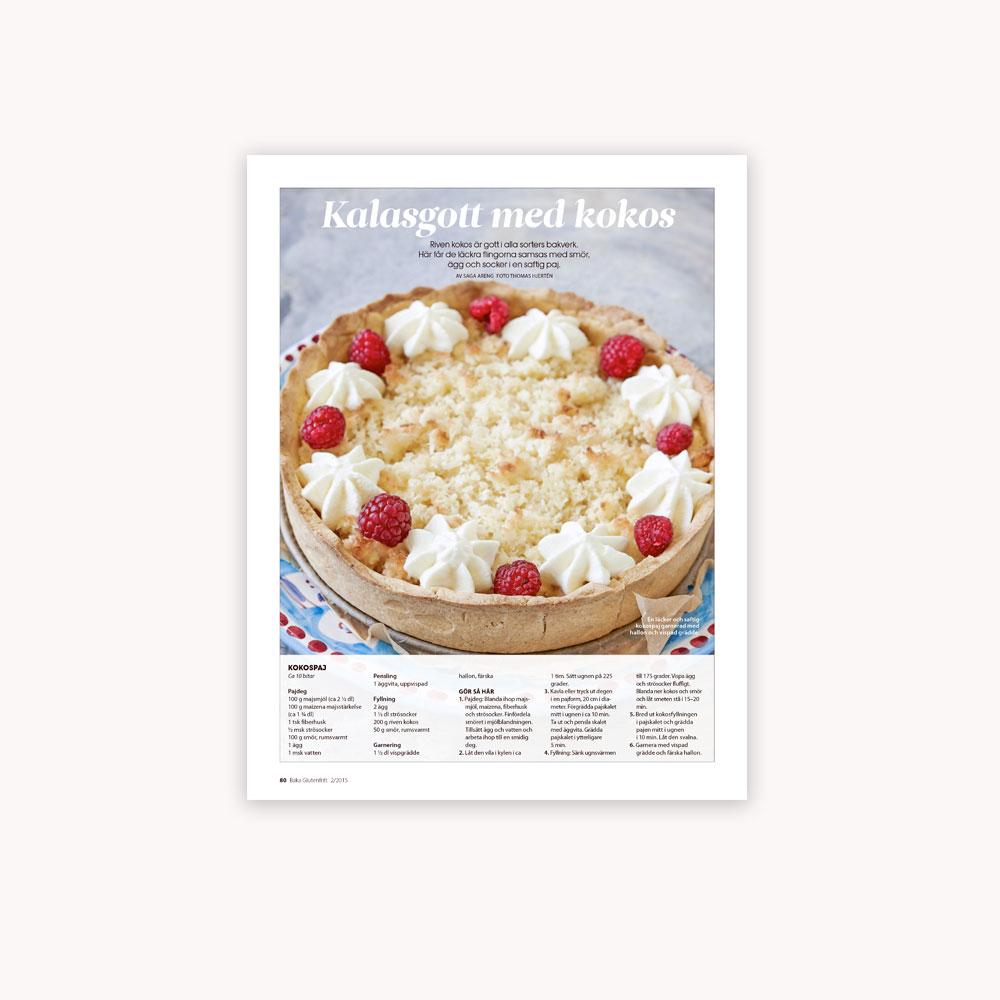 Recipe: Glutenfree coconut pie