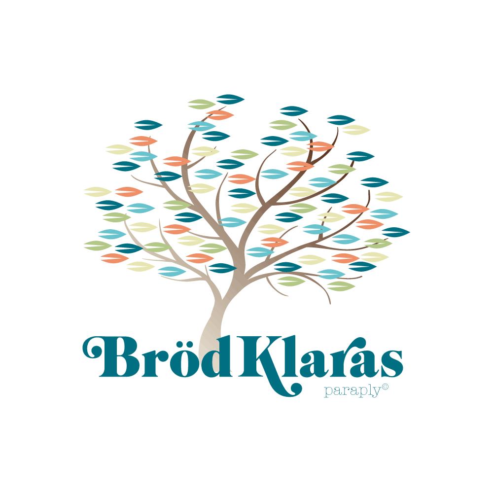 Logo for the blog Brödklaras Paraply