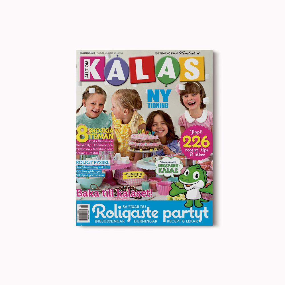 Cover Allt om kalas (June 2014)