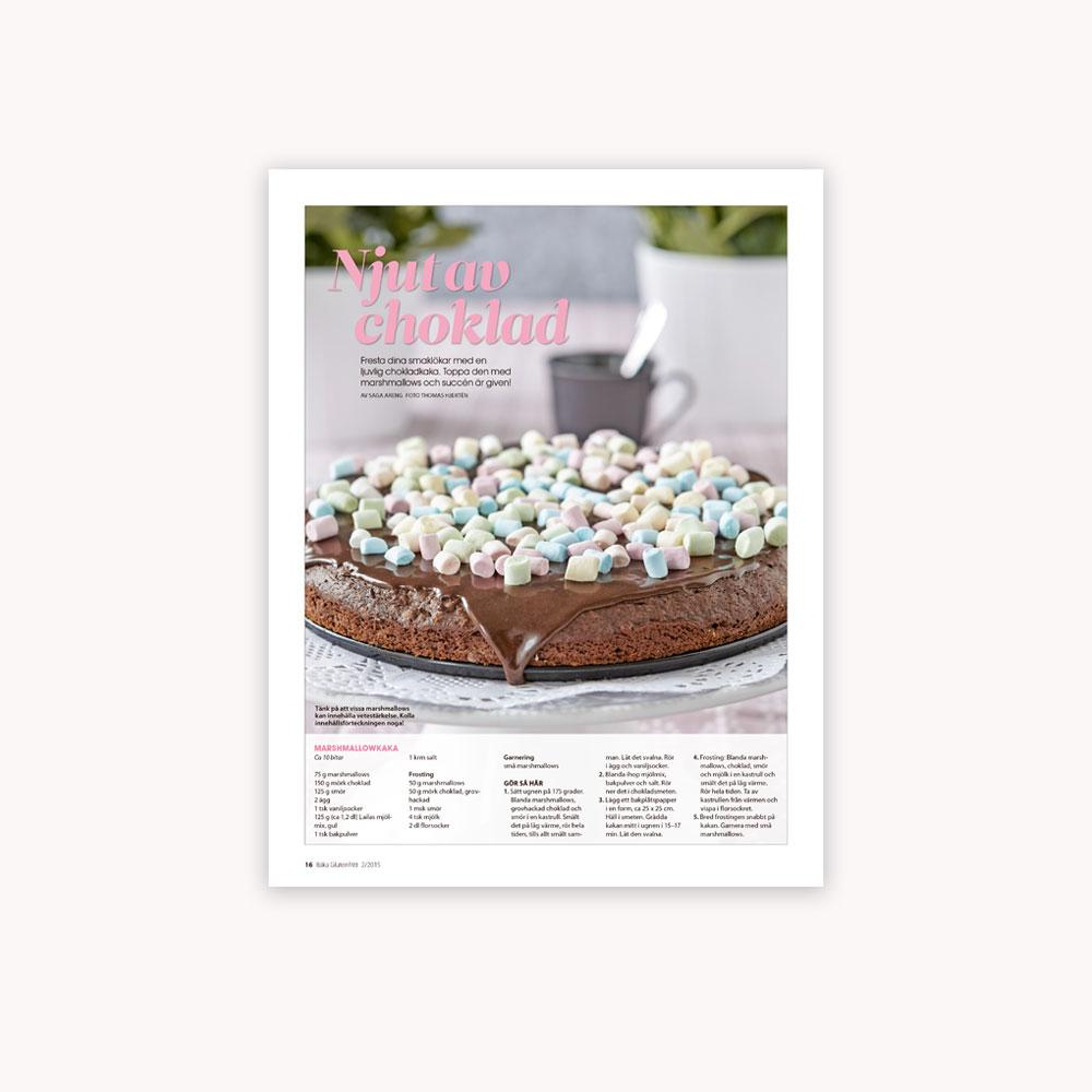Recipe: Glutenfree marshmallow cake
