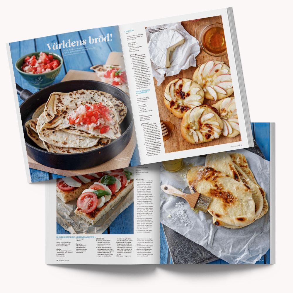 Recipe: Dinner breads